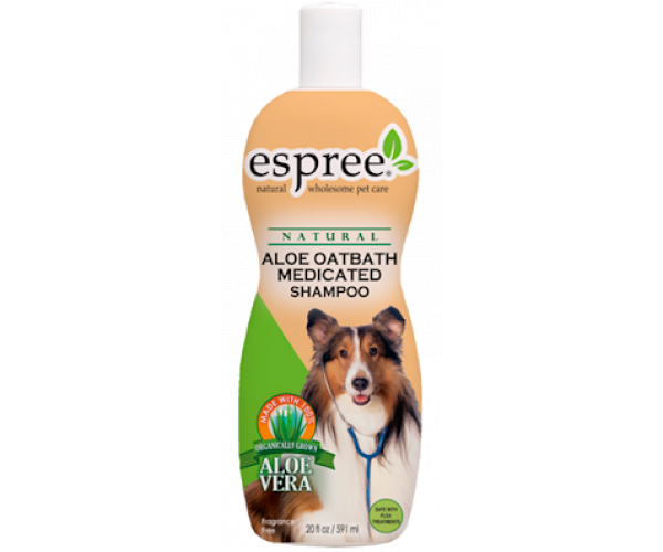 ESPREE Aloe Oatbath Medicated Shampoo 3.79 л